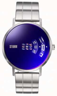 STORM | Remi V2 Lazer Blue | Stainless Steel Bracelet | Blue Dial 47458/LB