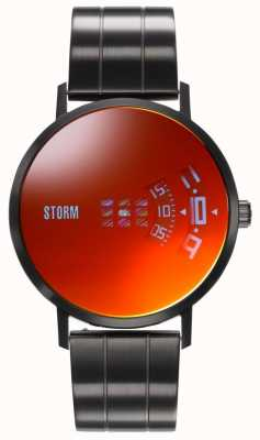 STORM | Remi V2 Slate Red | Black Steel Bracelet | Red Dial 47458/SL/R