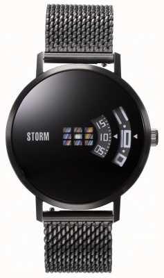 STORM | Remi V2 Mesh Slate | Black Mesh Strap | Black Dial | 47460/SL