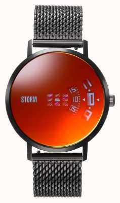 STORM | Remi V2 Mesh Slate Red | Black Mesh Bracelet | Red Dial | 47460/SL/R