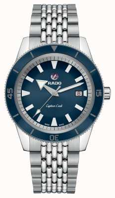 Rado XL 'Captain Cook' Stainless Steel Bracelet Blue Dial R32505203