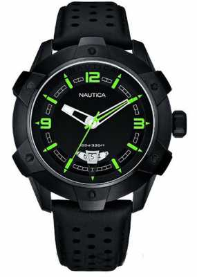 Nautica NST Mens Green Dial Watch A35516G