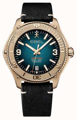 EBEL Limited Edition Men's Discovery | Bronze Case | Black Strap 1216472