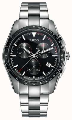 Rado XXL HyperChrome Chronograph Stainless Steel Black Dial Watch R32259153
