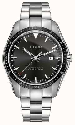 RADO XXL HyperChrome Stainless Steel Black Dial Watch R32502153