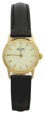 Rotary 9ct Gold Womens Strap LS11476/03
