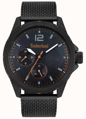 Timberland | Men's Taunton | Black Mesh Bracelet | Black Dial | 15944JYB/02MM