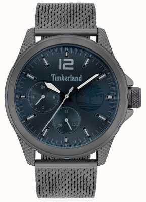 Timberland | Men's Taunton | Gunmetal Grey Mesh Bracelet | Navy Dial | 15944JYU/03MM