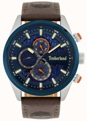 Timberland | Men's Ridgeview | Brown Leather Strap | Navy Dial | 15953JSTBL/03
