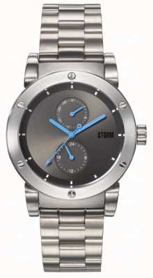 STORM | Hydron V2 Grey | Stainless Steel Bracelet | Grey Dial | 47461/GY
