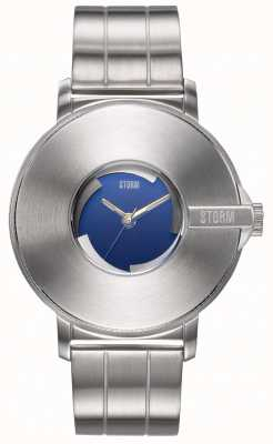 STORM | Camera V6 Lazer Blue | Limited Edition | Steel Bracelet 47463/LB