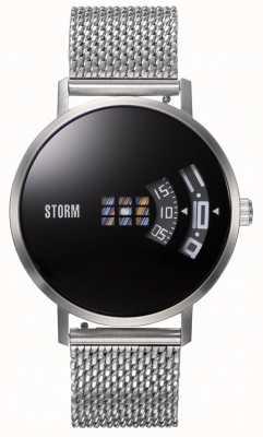 STORM | Remi V2 Mesh Black | Silver Mesh Bracelet | Black Dial | 47460/BK