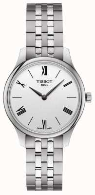 Tissot | Women's Tradition | Stainless Steel Bracelet | Silver Dial T0632091103800