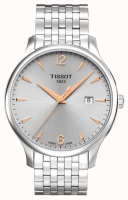 Tissot | Men's Tradition | Stainless Steel Bracelet | Silver Dial T0636101103701