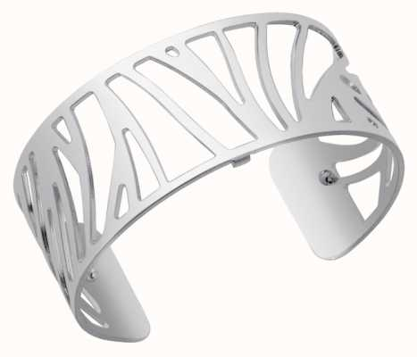 Les Georgettes 25mm Perroquet Silver Finish Bangle 70274441600000