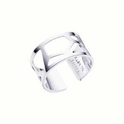 Les Georgettes 12mm Girafe Silver Finish Ring (58) 70296011600058