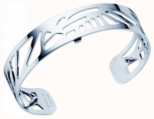 Les Georgettes 14mm Palmeraie Silver Finish Bangle 70295931600000