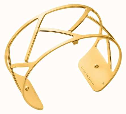 Les Georgettes 25mm Tresse Gold Plated Bangle 70325690100000