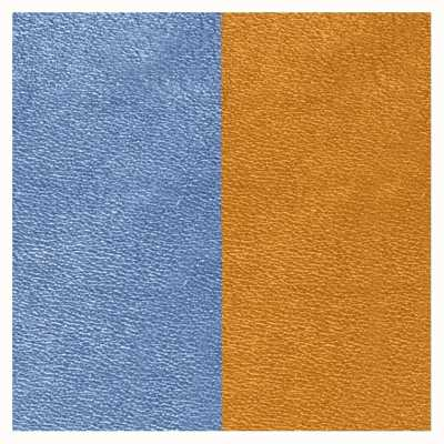 Les Georgettes 25mm Leather Insert | Denim Blue/Canyon 702755199M5000
