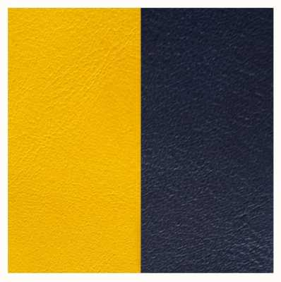 Les Georgettes 25mm Leather Insert | Sun/Navy Blue 702755199A4000