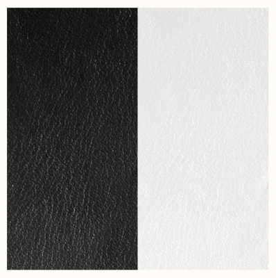 Les Georgettes 25mm Leather Insert | Black/White 702755199M4000