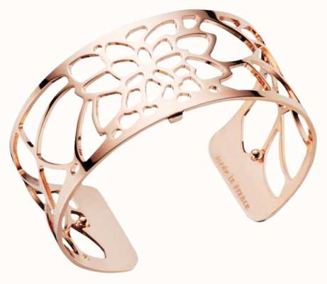 Les Georgettes 25mm Nenuphar Rose Gold Plated Bangle 70295864000000