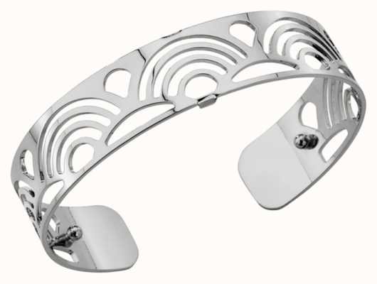 Les Georgettes 14mm Poisson Silver Finish Bangle 70261661600000