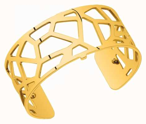 Les Georgettes 25mm Girafe Gold Plated Bangle 70274420100000
