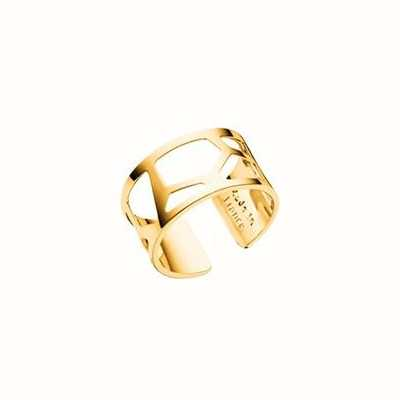 Les Georgettes 12mm Girafe Rose Gold Plated Ring (52) 70296010100052