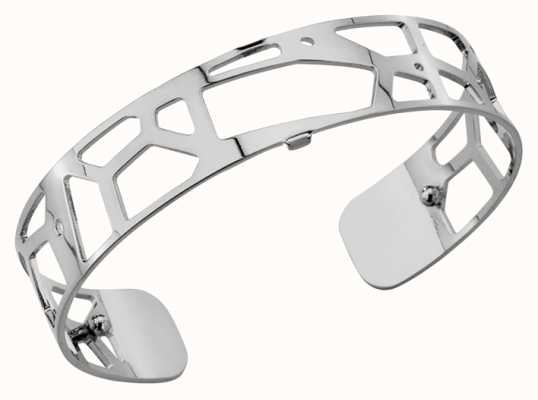 Les Georgettes 14mm Girafe Silver Finish Bangle 70261651600000