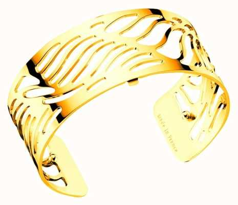 Les Georgettes 25mm Palmeraie Gold Plated Bangle 70295920100000