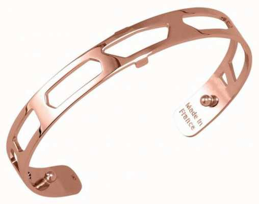 Les Georgettes 8mm Girafe Rose Gold Plated Bangle 70316874000000