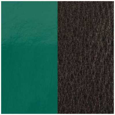 Les Georgettes 14mm Leather Insert | Patent Pine Green/Brown 702145899DF000