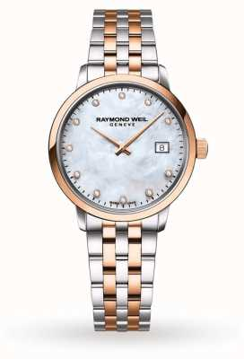 Raymond Weil Black Diamonds Mother of Pearl Dial 5985-SP5-20081