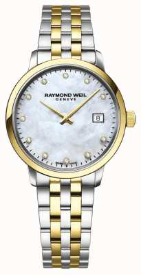 Raymond Weil SILVER DIAMONDS Mother of Pearl Dial 5985-STP-65081