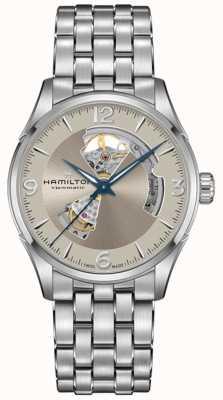 Hamilton | Jazzmaster Open Heart | Stainless Steel Bracelet | H32705121