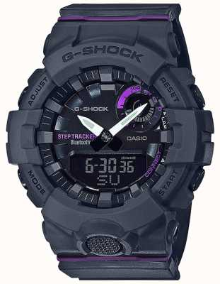 Casio | G-Shock G-Squad | Grey Rubber Strap | Bluetooth Smart GMA-B800-8AER
