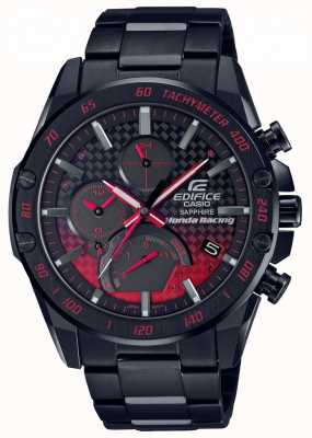 Casio Edifice Bluetooth Super-Slim Tough Solar | Stainless Steel EQB-1000HR-1AER