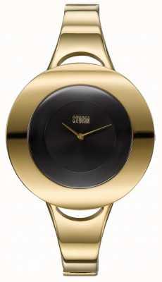 STORM | Centro Gold-Black | Women's Gold Tone Steel Bracelet | 47449/GD