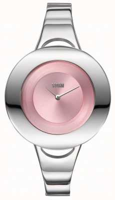 STORM | Centro Pink | Women's Stainless Steel Bracelet | Pink Dial 47449/PK