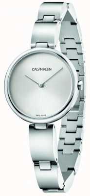 Calvin Klein | Women's Stainless Steel Bracelet | Silver Dial | K9U23146