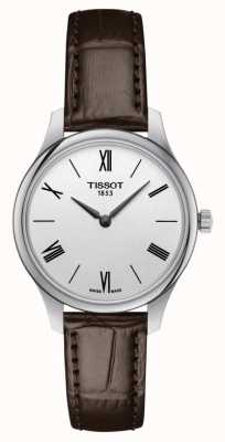 Tissot | Tradition 5.5 Lady | Brown Leather | T0632091603800