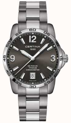 Certina | DS Podium | 40mm | Stainless Steel C0344514408700