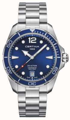 Certina | DS Action | Chronometer | Blue Dial C0324511104700