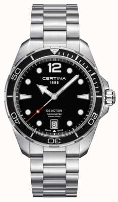 Certina Mens | Ds Action | Chronometer | Stainless Steel C0324511105700