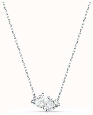 Swarovski Attract Soul | Rhodium Plated Necklace | White 5517117