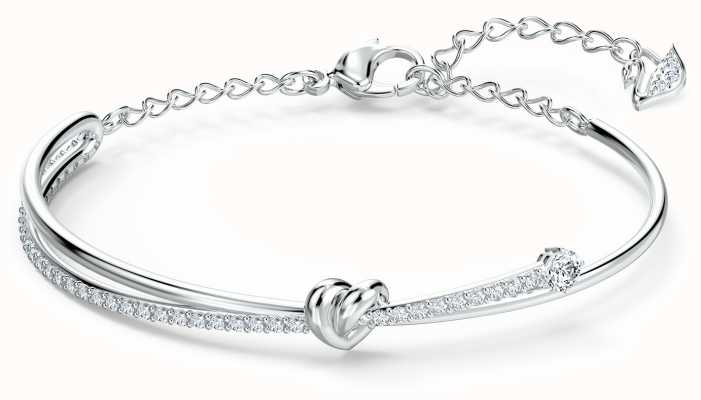 Swarovski Lifelong Heart | Bangle | Rhodium Plated | White | 5517944