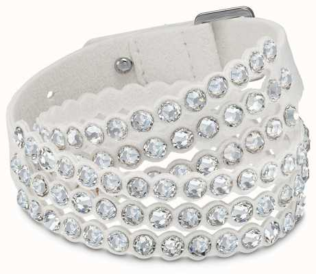 Swarovski Power | Slake Bracelet | White | Alcantara Fabric 5518697
