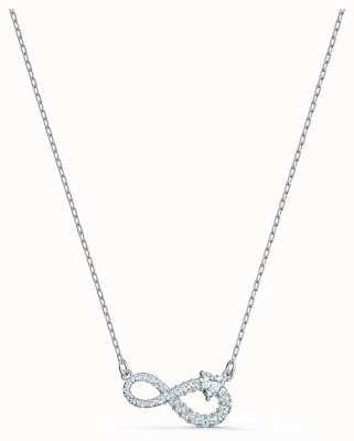 Swarovski Infinity | Necklace | Rhodium Plated | White | 5520576