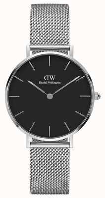 Daniel Wellington | Grand Petite 36 | Steel Mesh | Black Dial | DW00100304